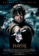 The Hobbit: The Battle of the Five Armies - Lithuanian Movie Poster (xs thumbnail)
