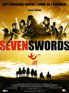Seven Swords - French Movie Poster (xs thumbnail)