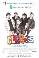 Clerks. - Spanish Movie Poster (xs thumbnail)