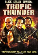 Tropic Thunder - DVD cover (xs thumbnail)