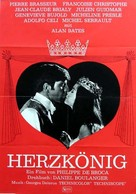 Roi de coeur, Le - German Movie Poster (xs thumbnail)