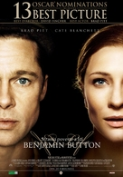 The Curious Case of Benjamin Button - Romanian Movie Poster (xs thumbnail)
