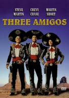 ¡Three Amigos! - DVD cover (xs thumbnail)