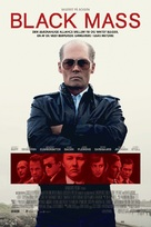 Black Mass - Danish Movie Poster (xs thumbnail)