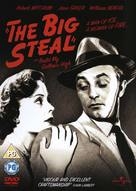 The Big Steal - British DVD movie cover (xs thumbnail)