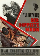 The Double Man - German Movie Poster (xs thumbnail)