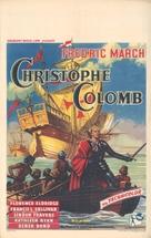 Christopher Columbus - British Movie Poster (xs thumbnail)