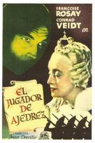 Le joueur d'échecs - Spanish Movie Poster (xs thumbnail)