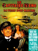 Captain Nemo and the Underwater City - French Movie Poster (xs thumbnail)