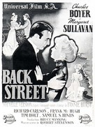 Back Street - French Movie Poster (xs thumbnail)