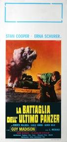 La battaglia dell'ultimo panzer - Italian Movie Poster (xs thumbnail)