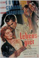 Human Desire - German Movie Poster (xs thumbnail)
