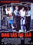 Lock Up - Danish Movie Poster (xs thumbnail)