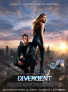 Divergent - Romanian Movie Poster (xs thumbnail)