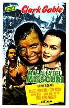 Across the Wide Missouri - Spanish Movie Poster (xs thumbnail)