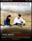 Seven Pounds - Spanish Movie Poster (xs thumbnail)