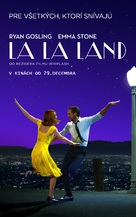 La La Land - Slovak Movie Poster (xs thumbnail)