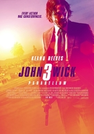 John Wick: Chapter 3 - Parabellum - Dutch Movie Poster (xs thumbnail)