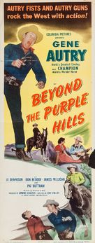 Beyond the Purple Hills - Movie Poster (xs thumbnail)