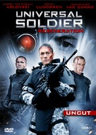 Universal Soldier: Regeneration - German Movie Cover (xs thumbnail)