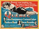 Quebec - British Movie Poster (xs thumbnail)