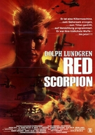 Red Scorpion - German Movie Poster (xs thumbnail)