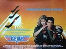 Top Gun - British Movie Poster (xs thumbnail)