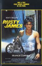 Rumble Fish - French VHS movie cover (xs thumbnail)