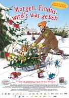 Pettson och Findus 3: Tomtemaskinen - German Movie Poster (xs thumbnail)