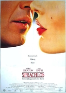 Speechless - German Movie Poster (xs thumbnail)