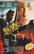 Blood Red - German VHS cover (xs thumbnail)