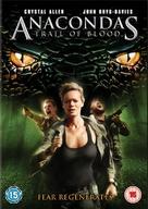 Anaconda 4: Trail of Blood - British DVD movie cover (xs thumbnail)
