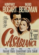 Casablanca - German Re-release movie poster (xs thumbnail)