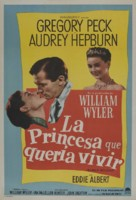 Roman Holiday - Argentinian Movie Poster (xs thumbnail)