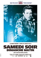 Saturday Night and Sunday Morning - French Re-release poster (xs thumbnail)