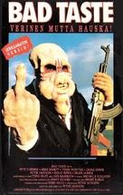 Bad Taste - Finnish VHS movie cover (xs thumbnail)