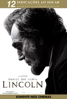 Lincoln - Brazilian Movie Poster (xs thumbnail)