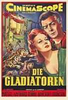 Demetrius and the Gladiators - German Movie Poster (xs thumbnail)
