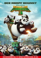 Kung Fu Panda 3 - German Movie Poster (xs thumbnail)