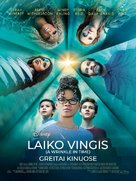 A Wrinkle in Time - Lithuanian Movie Poster (xs thumbnail)