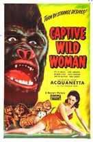 Captive Wild Woman - Movie Poster (xs thumbnail)