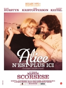 Alice Doesn't Live Here Anymore - French Re-release poster (xs thumbnail)