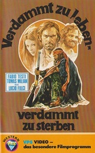 Quattro dell'apocalisse, I - German VHS movie cover (xs thumbnail)