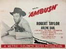 Ambush - British Movie Poster (xs thumbnail)