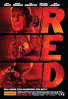 RED - Australian Movie Poster (xs thumbnail)