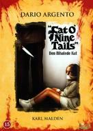 Il gatto a nove code - Danish DVD cover (xs thumbnail)