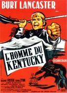 The Kentuckian - French Movie Poster (xs thumbnail)