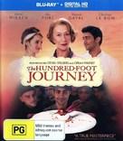 The Hundred-Foot Journey - Australian Blu-Ray cover (xs thumbnail)