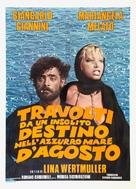 Travolti da un insolito destino nell'azzurro mare d'agosto - Italian Movie Poster (xs thumbnail)