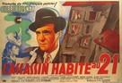L'assassin habite... au 21 - French Movie Poster (xs thumbnail)